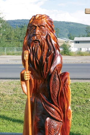 Chetwynd BC Chainsaw Carvings