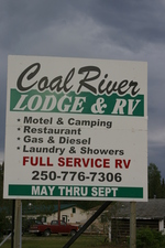 Coal River Lodge BC
