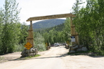 Entrance Chena Hot Spring Alaska