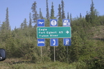 Top of the World Highway Yukon Alaska