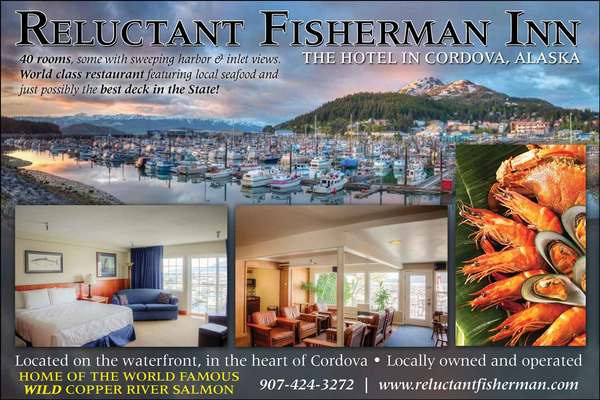 Reluctant Fisherman Restaurant Menu